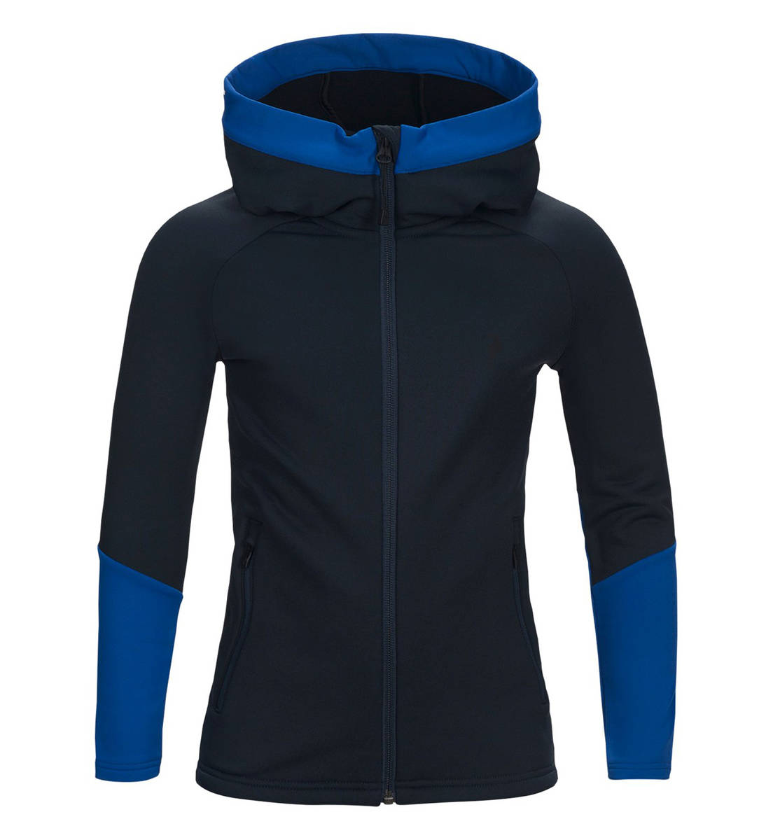 online store 16109 2f0b6 Peak Performance JR Rider Zip Hood Salute Blue - Alpine ...